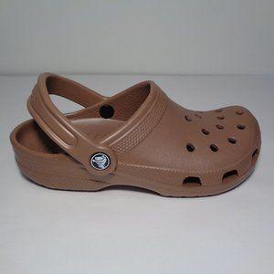 Crocs CLASSIC Bronze Clogs New Womens Shoes